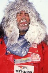 Yuri's Frozen Nose (Weber Arctic Expeditions) Tags: ice richard misha weber northpole frostbite arcticocean polarexpedition malakhov wardhuntisland fischerskis polarbridge polartraining capearkticheskiy dimitrishparo shparo