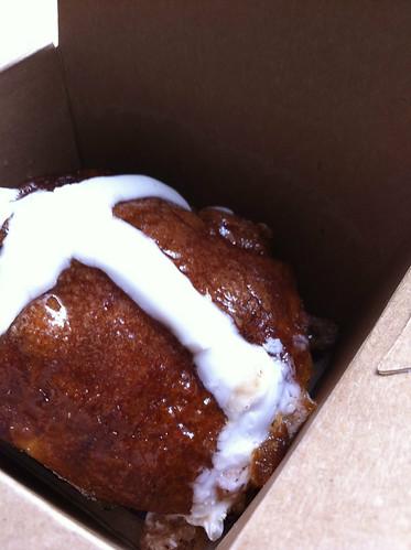 Hot cross bun@Mayfield bakery