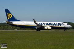 EI-DPC - 33604 - Ryanair - Boeing 737-8AS - Luton - 100603 - Steven Gray - IMG_3045