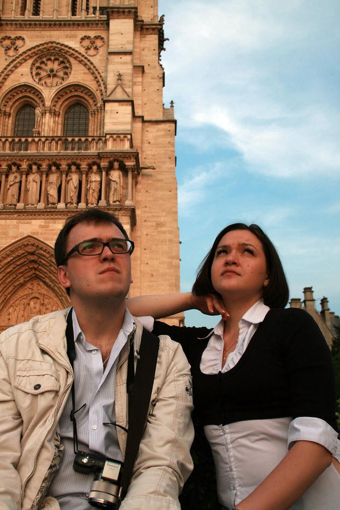 Tanya & Notre Dame de Paris