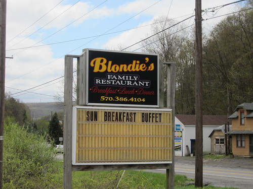 Controle#3 Blondies, New Ringgold, Pa.  The girls that waited on us were very pleasant