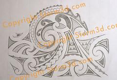 tatoo-mauri-pencil-sleeve-design (Storm3d.com) Tags: art tattoo ink design artist flash drawings style tribal designs maori sketches shoulder arrowheads sleeve samoan spear sleeves polynesian tat2 kirituhi
