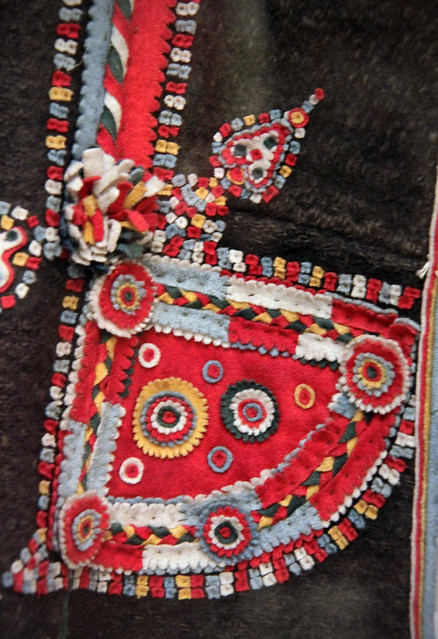 Detail - Bride from Torockó in church costume, Torda - Aranyos county, late 19th century