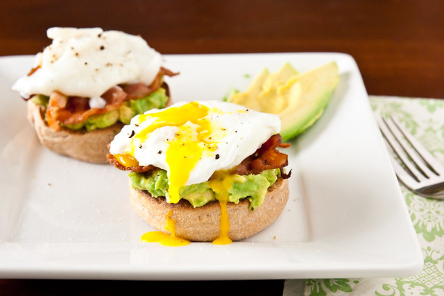 Eggs Benedict with Avocado