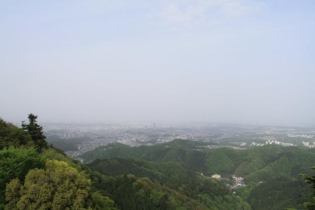 晴れてたら新宿とか見えるらしい