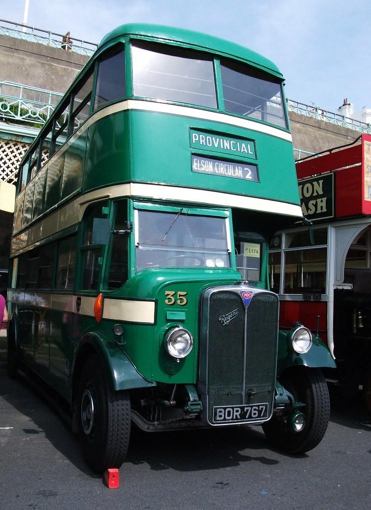 Provincial 35 AEC Regent 1 . Brighton 01/05/11