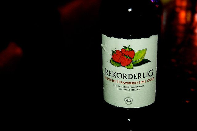 Rekorderlig cider….will this be the drink of the summmer ?!