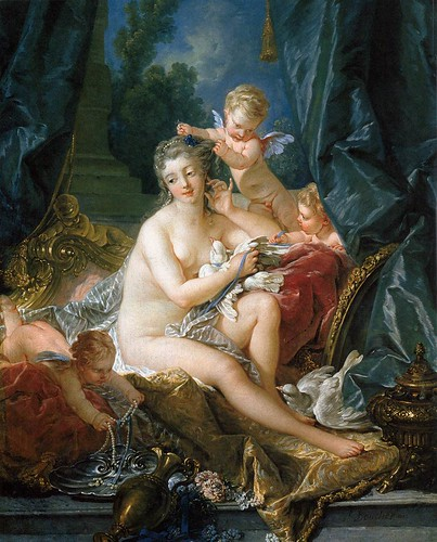 The Toilet of Venus-Boucher