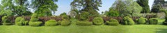Topiary Panorama (John of Witney) Tags: autostitch panorama garden topiary nt nationaltrust oxfordshire chastletonhouse chastleton