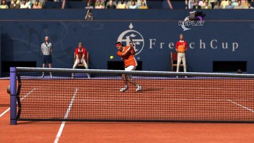 Federer v Nadal Clay6