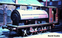 S0942 S115 HL3534/22 0-6-0ST Frank @ NCB Peckfield Colliery (davidncooke_686) Tags: uk industrial board shed railway steam national locomotive coal