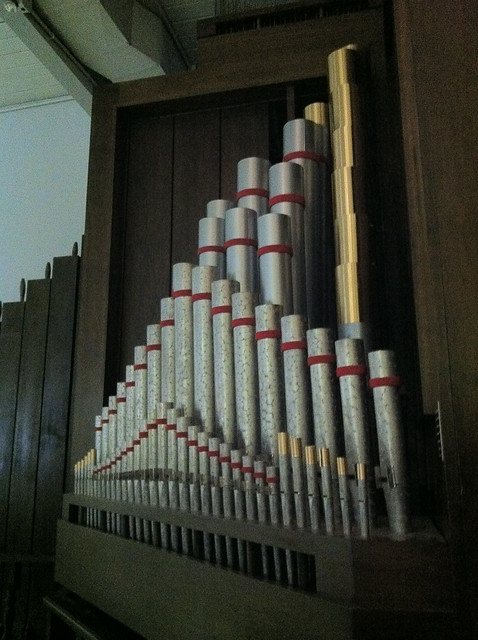 D3 church pipe organ