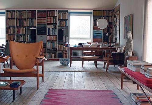 Finn Juhl {mid-century loft}
