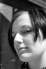 Anny P bw (peter pirker) Tags: portrait blackandwhite bw woman girl canon austria sterreich krnten carinthia frau dame mdchen villach schwarzweis flickraward peterfoto eos550d