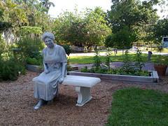 Mina Edison in the Garden