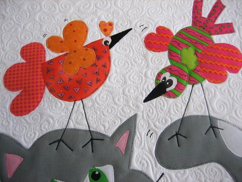 the birds....