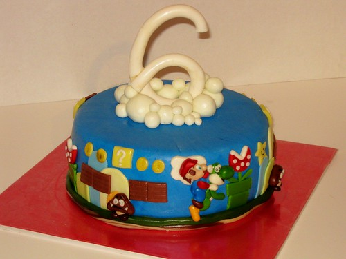 Mario Cake by Cake Maniac