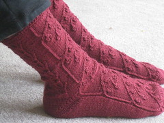 Snowdrops socks