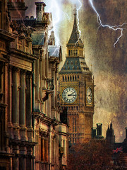 Rapture . .... in London (ZedZap Photos) Tags: storm london bigben lightning hdr rapture zedzap
