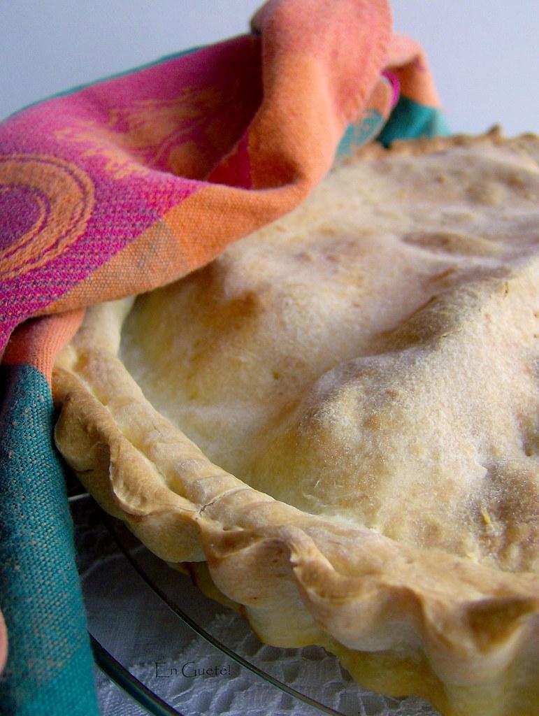 Tarta de alcachofas baby