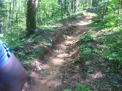 Old Trail Below Grade