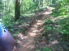 Old Trail Below Grade