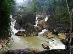 Falls at lake H Ba B (Gregor  Samsa) Tags: lake fall river nationalpark falls vietnam ba watefall h bab b hbab bablake