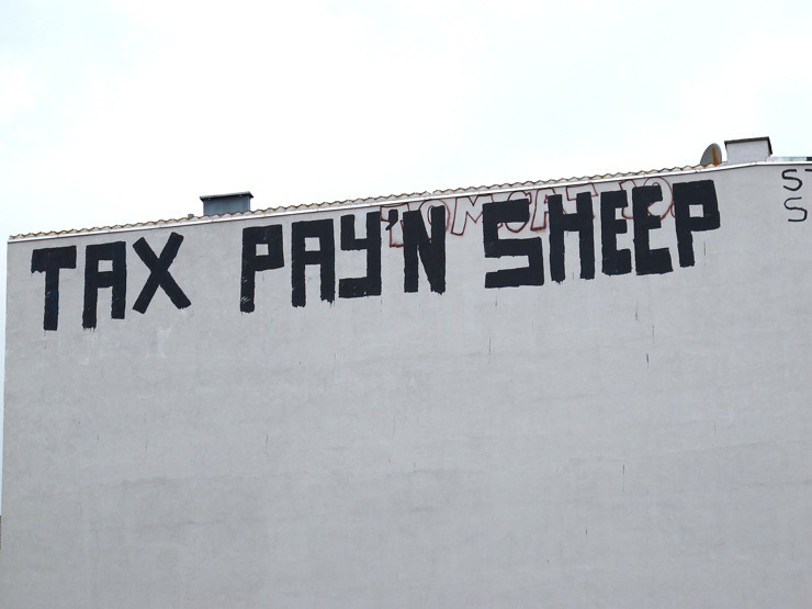 Tax pay'n sheep