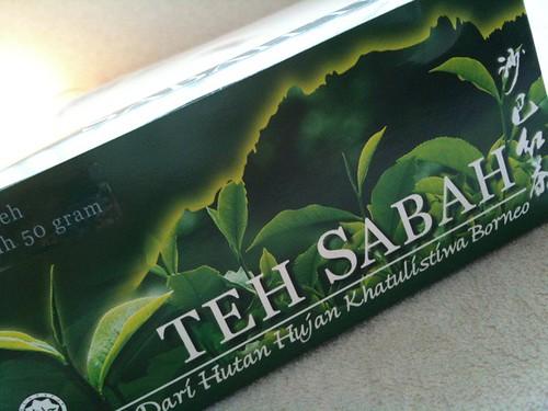 いただき物のサバティーをいただきます。マレーシアのサバ地区の紅茶とのこと。くせのない飲みやすいお茶ですね〜。