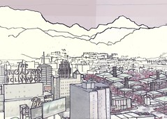 View #1 (ryanprb) Tags: architecture drawing thesis hollywood psychogeography labyrinth