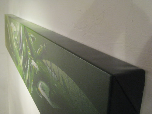 Die Kunst! SEAK auf Leinwand. (2011)