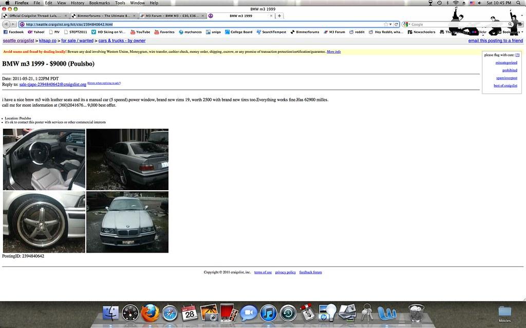 Craiglist com seattle