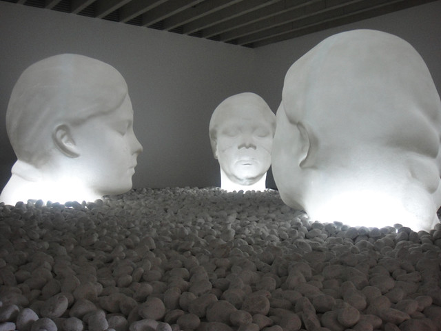 Jaume Plensa - Yorkshire Sculpture Park