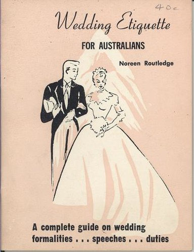 AHM3598 Wedding Etiquette For Australians