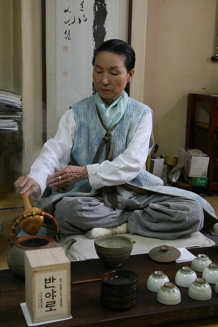 Great Tea Master Chae Won-hwa