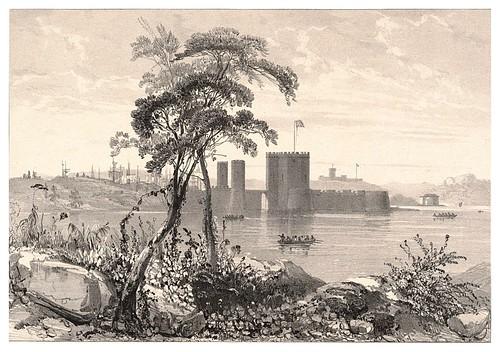 001b-Fuerte Macquarie en Sidney-Journal de la navigation autour du globe… 1837-Barón de Bouganville-fuente BOTANICUS