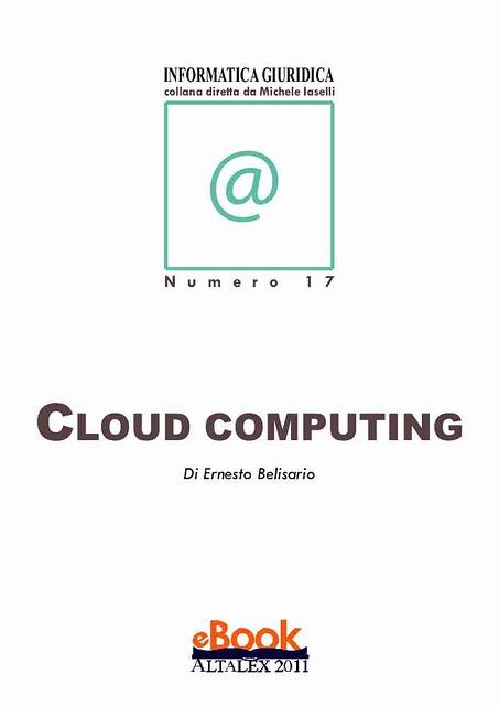 Diritto sulle nuvole - profili giuridici del cloud computing