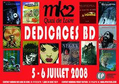 Ddicace MK2 quai de Loire (Tarek-comics) Tags: book bd livre tarek auteur perger dition tengiz pompetti sirarthurbenton morinire