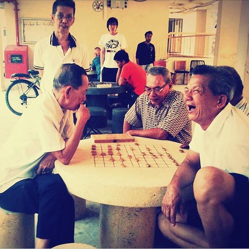 Kar Mun- Chess at HDB