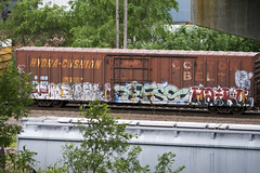 sype-jet?-efso-haiku (◀︎Electric Funeral▶︎) Tags: railroad art yard train bench graffiti midwest paint haiku railcar traincar omaha wk graff freight councilbluffs cottonbelt benching sype efso