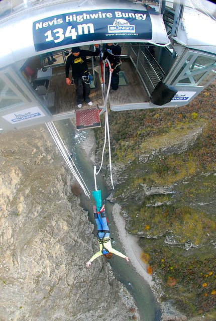 Nevis Highwire Bungy, Queenstown, New Zealand