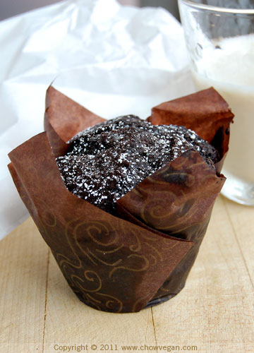 Vegan Chocolate Muffin From Pamplemousse