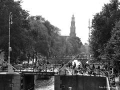 Prinsengracht okt 2016 (kees.stoof) Tags: prinsengracht centrum westerkerk