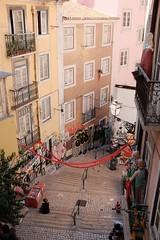 cozy street (Marco Hamersma) Tags: cozy graffity lisbon portugal street