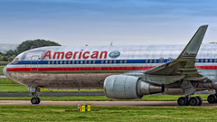 N351AA (Jonathan93102) Tags: n351aa american americanairlines boeing boeing767 boeing767300 airplanepictures airplane airliner airlinerworld jetliner winglet sanfrancisco manchesterairport man egcc manchester aviationviewingpark avp runwayvisitorpark bluesky morning winter 2015 nikon nikond7200 nikon70200mmf4 nikonaviation speciallivery avgeek aviationphotography aviation america usa heavy widebody sevensix sevensixtyseven boeing767323 boeing767323er airplanepicturesnet aircraft outdoor jet aa aal