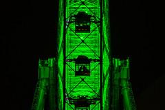 Right Beside The Ferris Wheel (aotaro) Tags: night ferriswheel nightphotography yokohama cosmoworld inside sal70300g cosmoclock cosmoclock21 ilce7m2 architecture