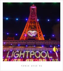Tower over me (Parallax Corporation) Tags: blackpooltower blackpoolilluminations lights nightime spotlights seaside