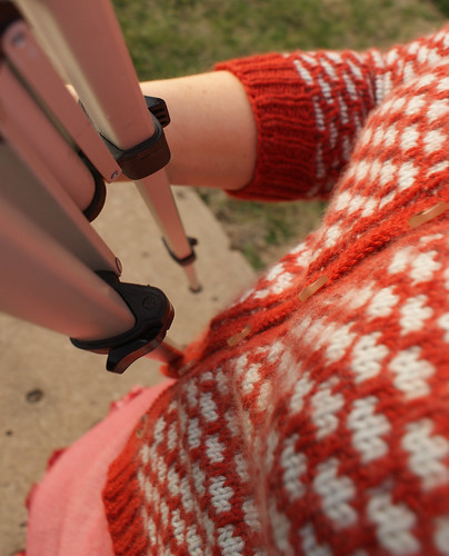 Sneak peek of Sally Cardigan, coming soon to Craftzine!