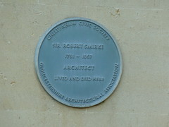Photo of Robert Smirke blue plaque