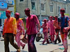 Hyderabad 124 - Holi Festival (Ben Beiske) Tags: hyderabad